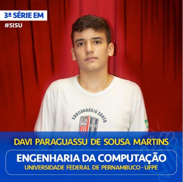 Davi Paraguassu de Sousa Martins
