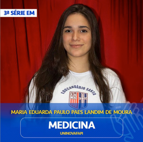 Maria Eduarda Paulo Paes Landim de Moura
