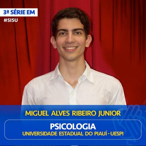 Miguel ALves Ribeiro Junior