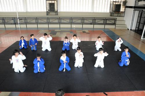 Ginásio Esportivo - Aula de Judô
