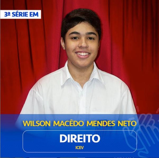 Wilson Macedo Mendes Neto