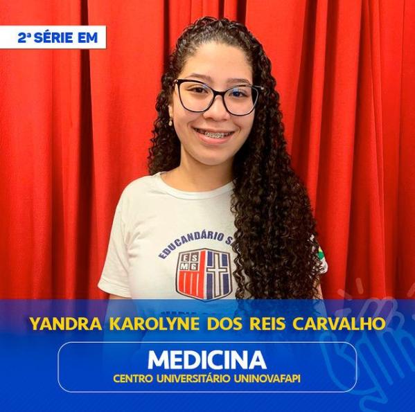 Yandra Karolyne dos Reis Carvalho